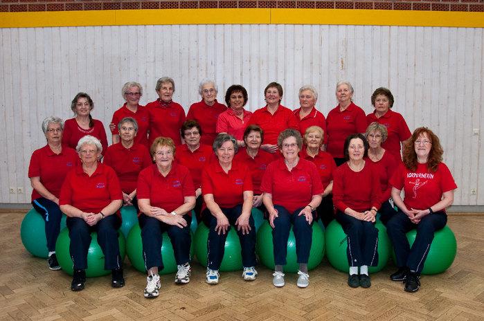Gruppenbild - Seniorenturnen