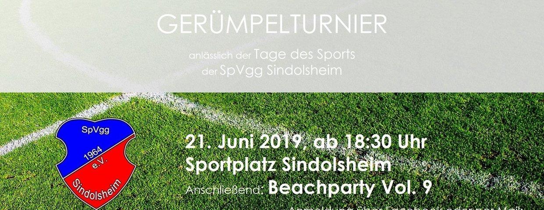 Gerümpelturnier 2019
