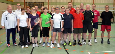Freizeitsport Badminton